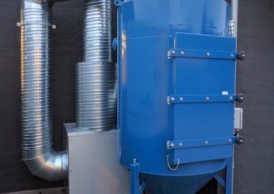 Svejserøgsfilter og ventilator