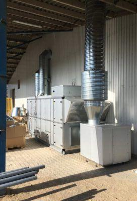 Aggregater til ventilation