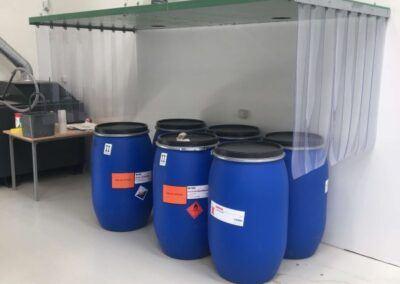 emfang i genbrugsplast